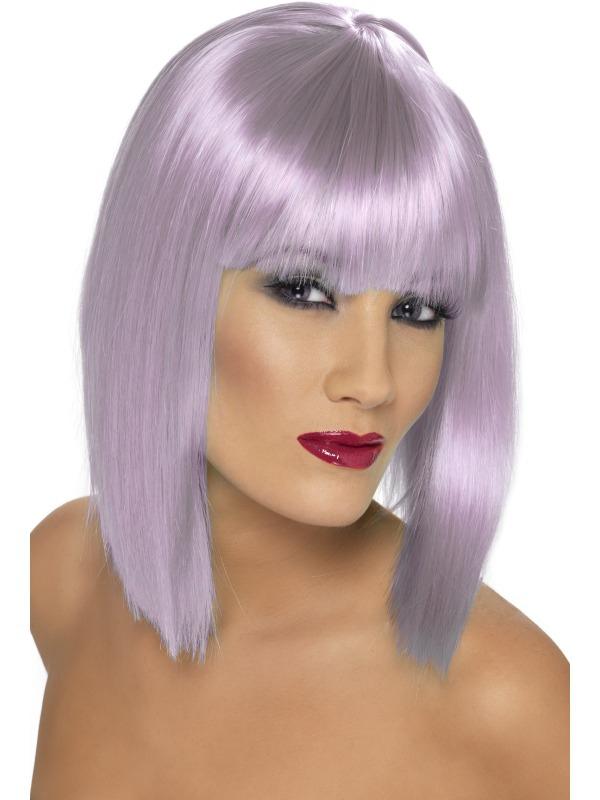 Paruky - Dámská paruka Glam lila