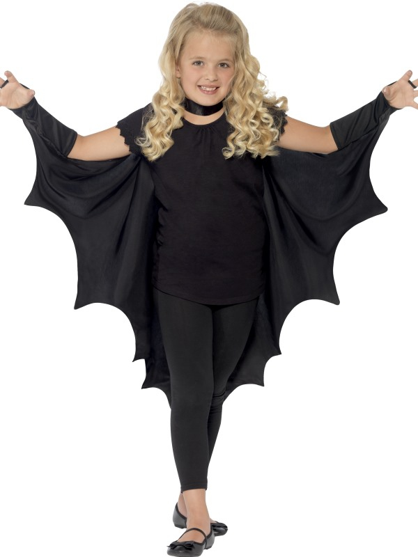 Kostýmy - Dětský plášť Upíří křídla