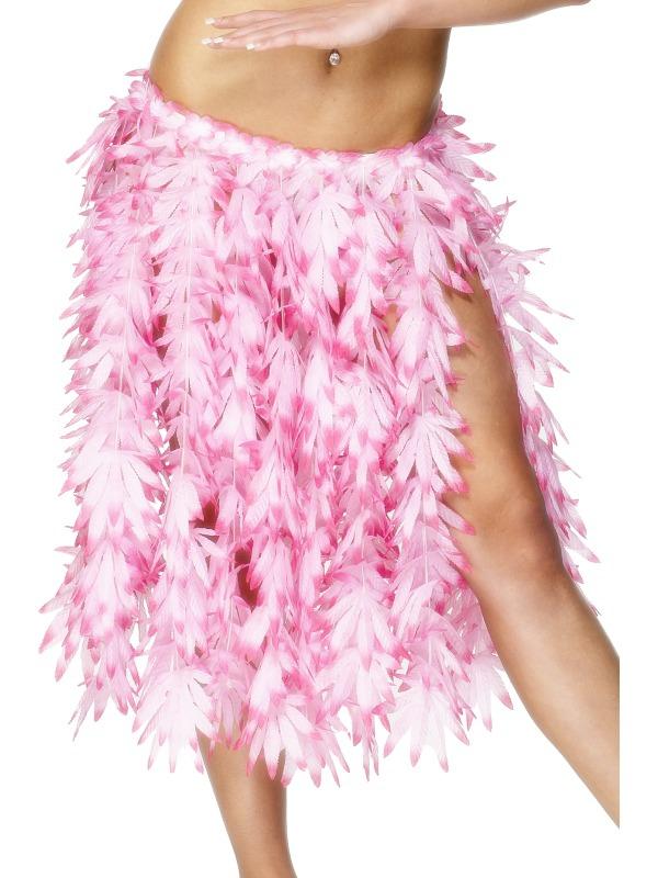 Havajská párty - Havajská sukně růžové lístky