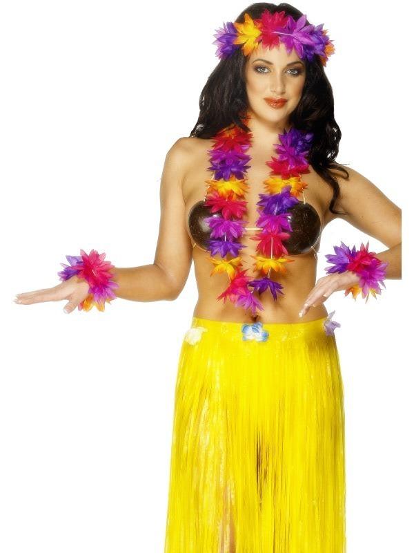 Havajská párty - Havajská sada multi