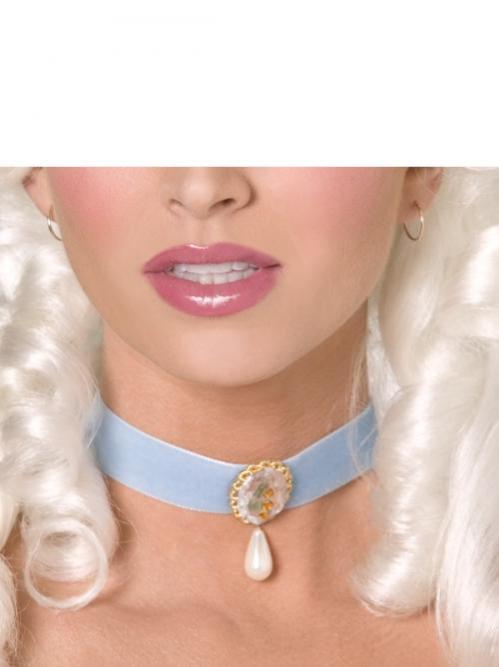 Karnevalové doplňky - Obojek Barokní dáma