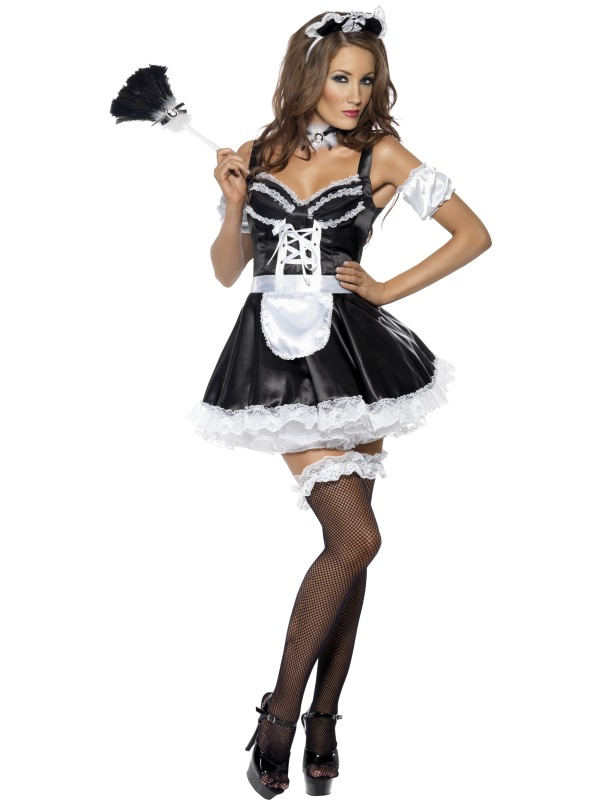 Kostýmy - Dámský kostým Sexy pokojská