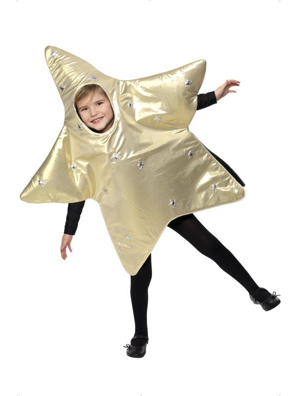 Kostýmy - Dětský kostým Vánoční hvězda