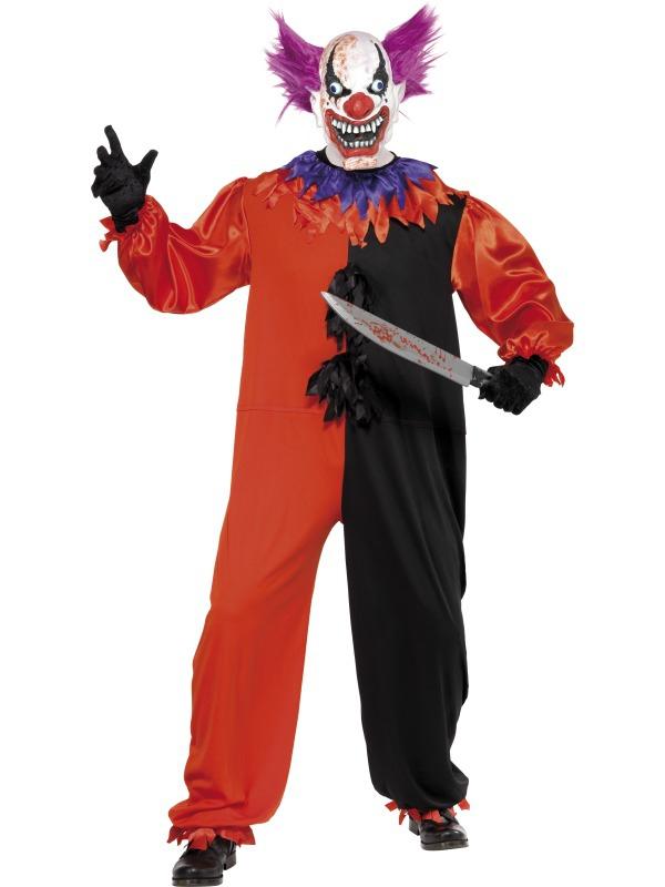 Klauni - Kostým Klaun halloween