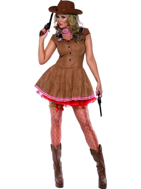 Kostýmy - Kostým Sexy kovbojka