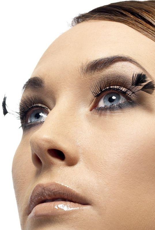 Líčidla a kosmetika - Řasy Černé s peřím