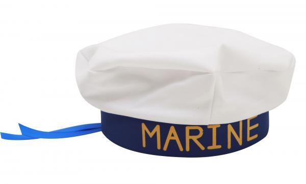 Klobouky-čepice-čelenky - Námořnická čepice Marine