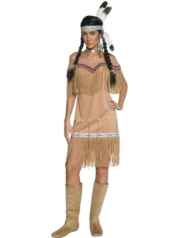 Indiáni - Kostým Indiánka