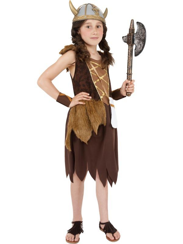 Kostýmy - Dětský kostým Vikingská dívka