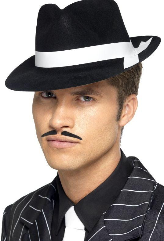 Klobouky-čepice-čelenky - Klobouk Al Capone černý