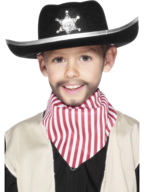 Klobouky-čepice-čelenky - Dětský plstěný šerifský klobouk