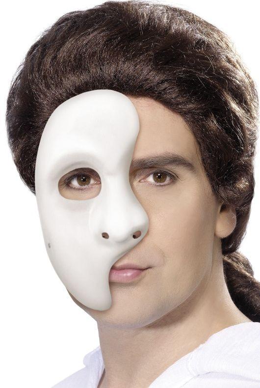 Masky - Plastová maska Fantóm