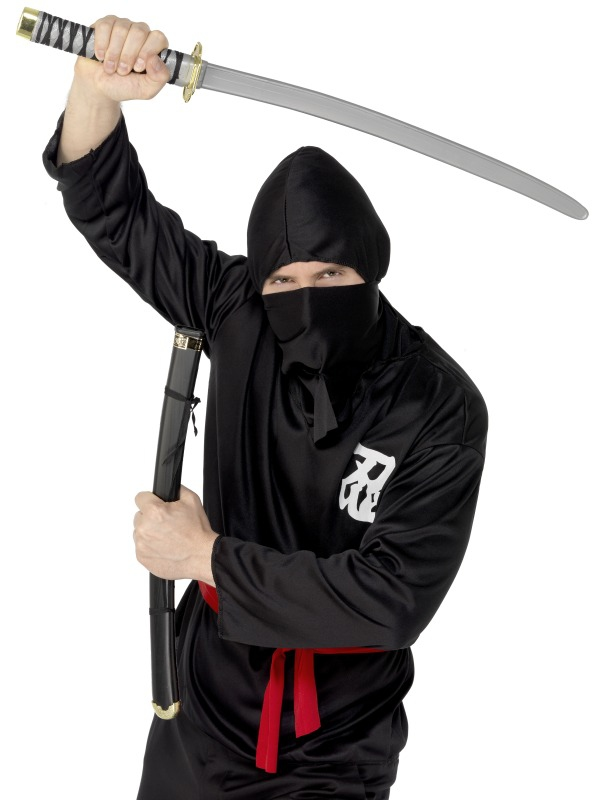 Karnevalové doplňky - Meč a pochva Ninja 73 cm