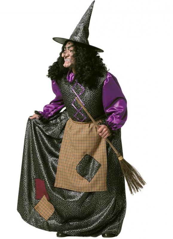 Čarodějnice - Kostým Stará čarodějnice