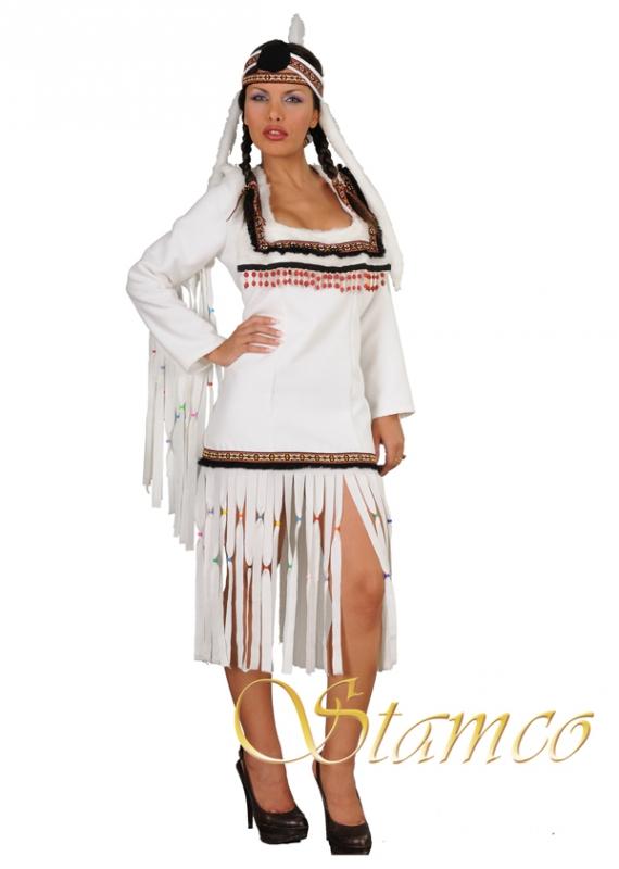 Kostýmy - Kostým Bílá indiánka