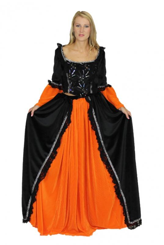Princezny-Víly - Dámský kostým Černá princezna