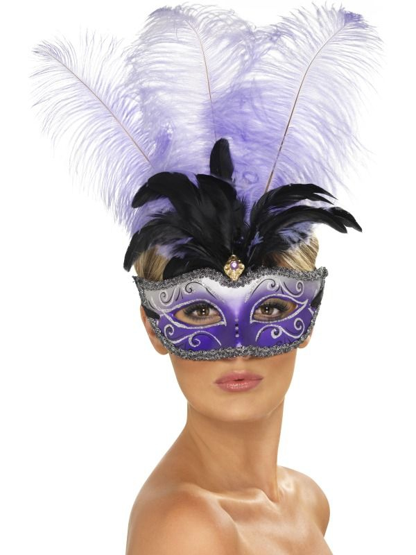 Masky - Škraboška Venetian Colombina