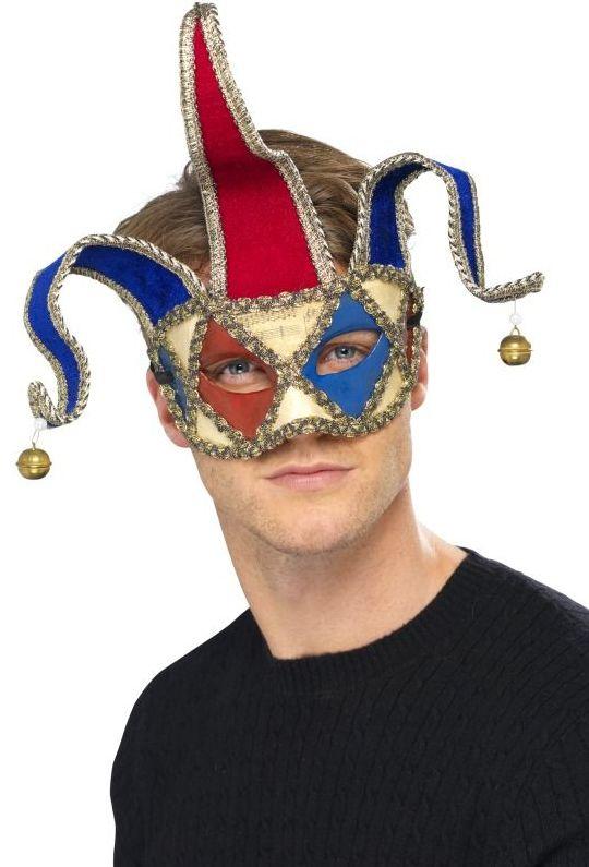 Masky - Škraboška Musical Jester