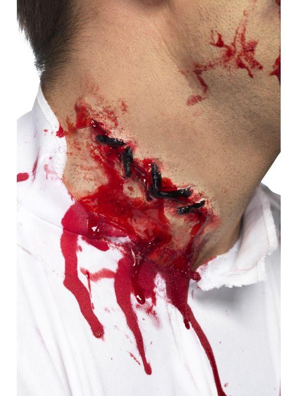 Líčidla a kosmetika - Zranění Jizva se stehy
