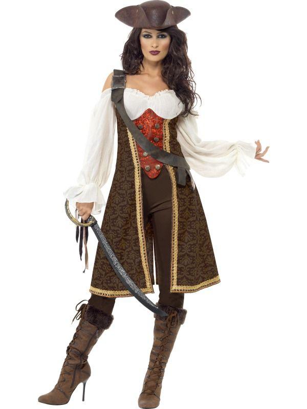 Piráti - Dámský kostým Mořská pirátka