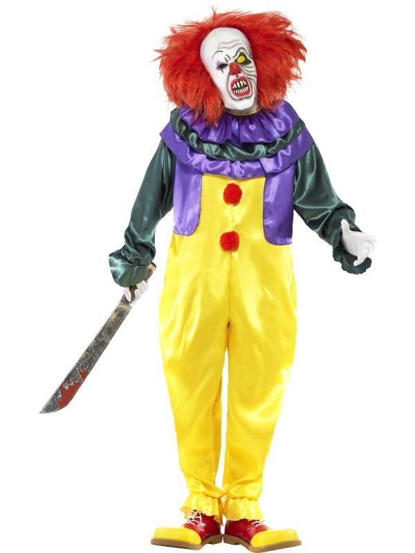 Halloween, strašidelné kostýmy - Kostým Hororový klaun halloween