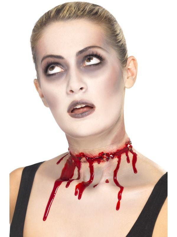 Líčidla a kosmetika - Zranění Jizva na krku