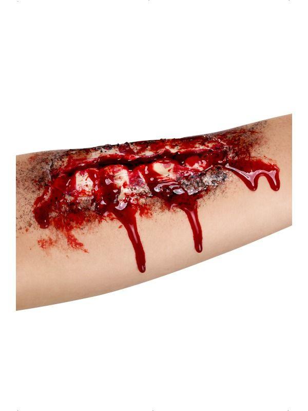 Líčidla a kosmetika - Zranění Otevřená jizva