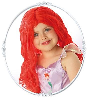 Paruky - Dětská paruka Ariel