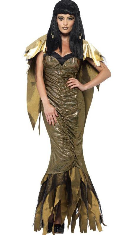 Kostýmy z filmů a pohádek - Dámský kostým Temná Kleopatra