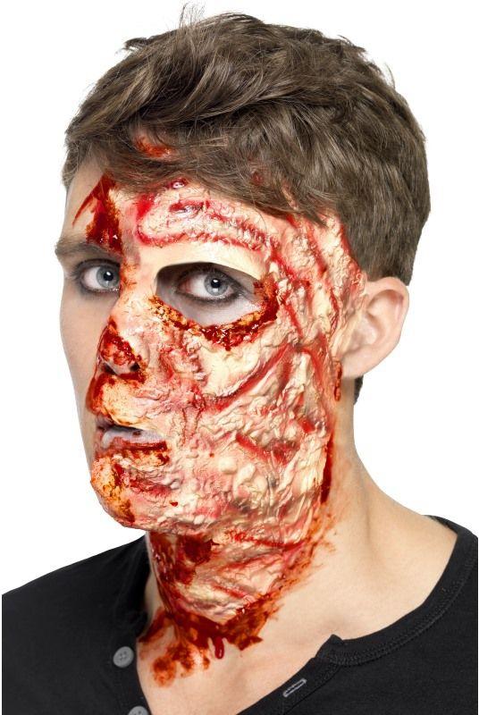 Líčidla a kosmetika - Zranění Spálený obličej