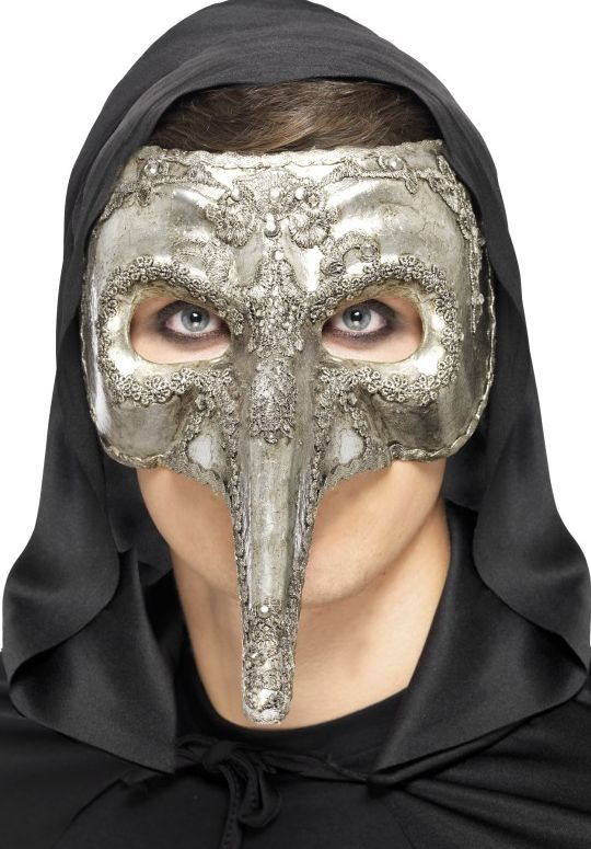 Masky - Škraboška Luxusní benátský kapitán