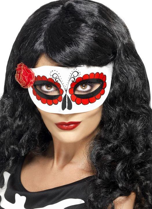 Masky - Škraboška Mexický den smrti