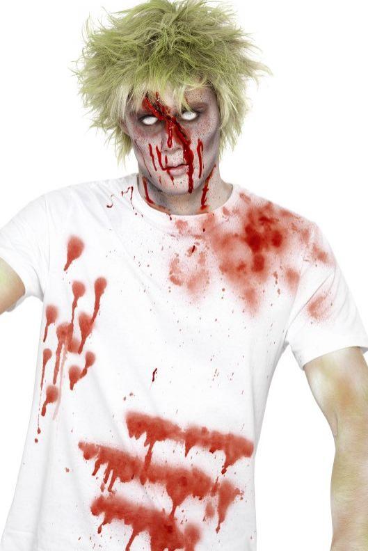 Líčidla a kosmetika - Krev na oblečení ve spreji