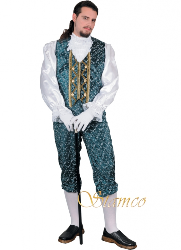 Kostýmy - Pánský kostým Hrabě Louigi