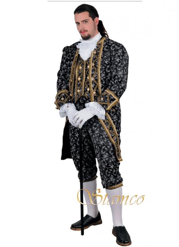 Kostýmy - Pánský kostým Hrabě Johan