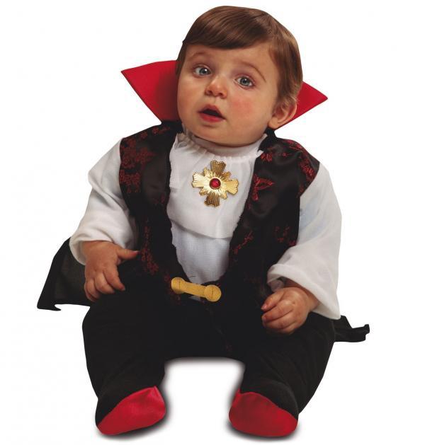 Kostýmy - miminkovský kostým  Drákula