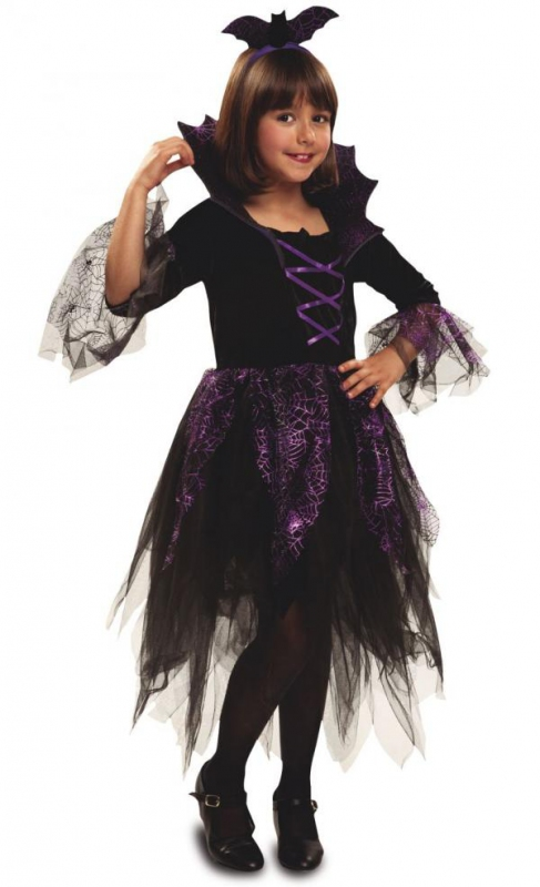Kostýmy - Dívčí kostým na halloween a čarodějnice