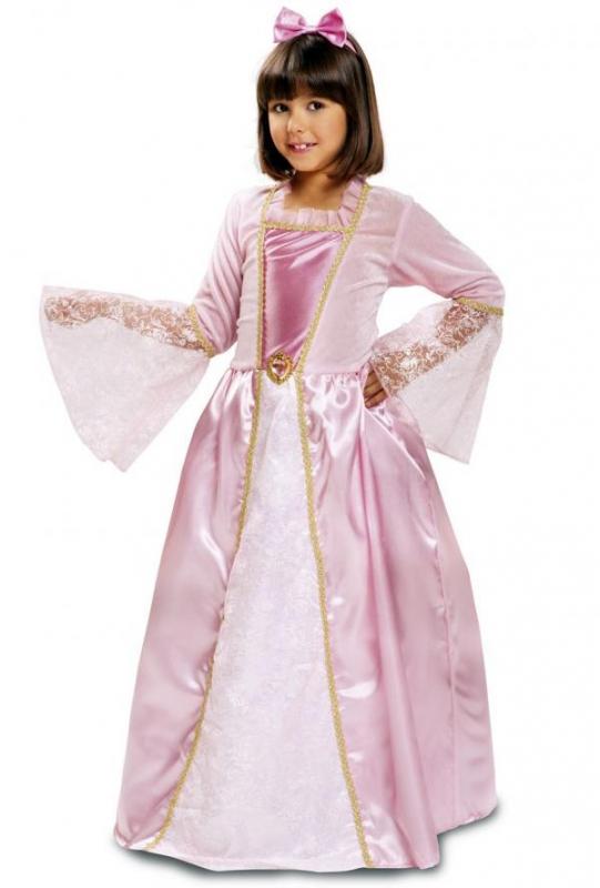 53db82f94e9b Dětský kostým Princezna růžová - Levný karneval