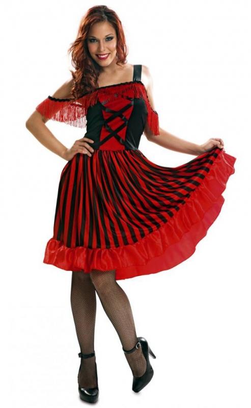 Kostým Can-can - Levný karneval 826925c5466