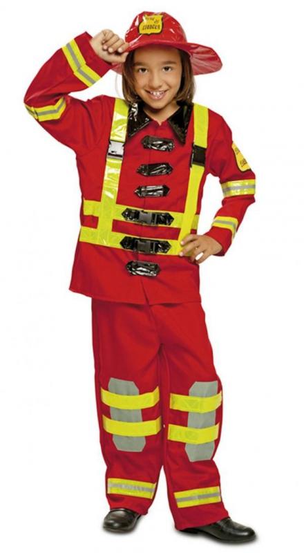 Dětský karnevalový kostým hasič - Levný karneval 237612dee23