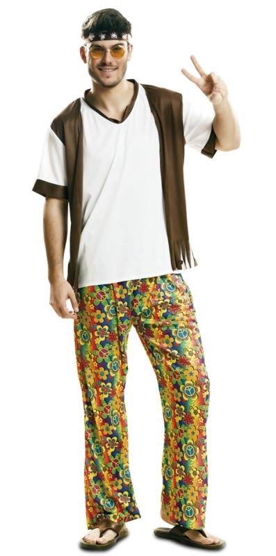 Hippie - Kostým pánský hippie