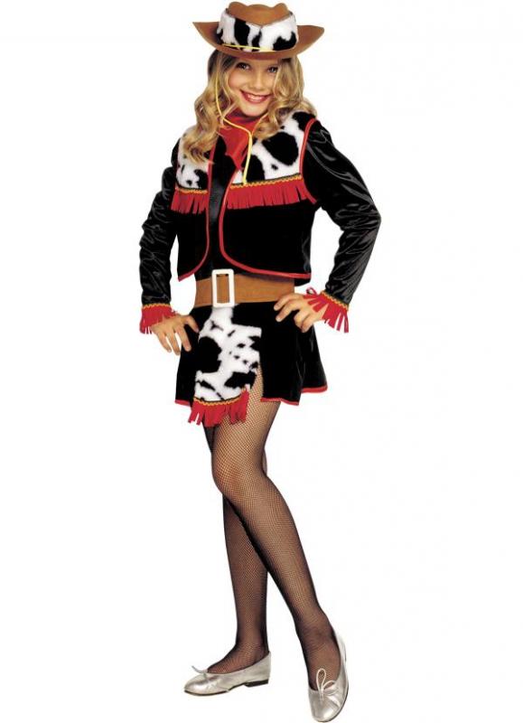 Kovbojové - Dívčí kostým Kovbojka
