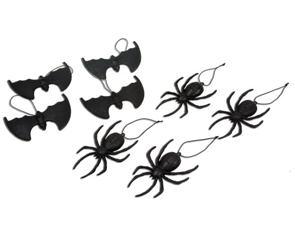 Karnevalové doplňky - Sada Halloween havěť