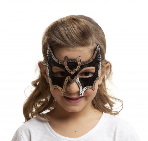Masky - Škraboška dětská netopýr