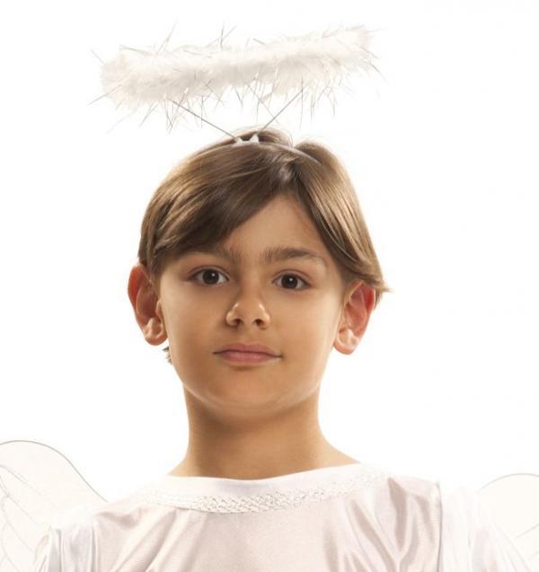 Mikuláš - Čert - Anděl - Svatozář