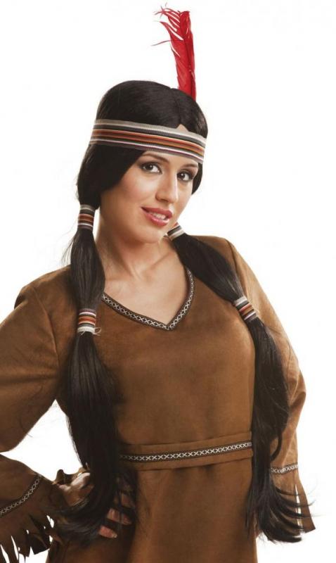 Indiáni - Paruka Indiánka