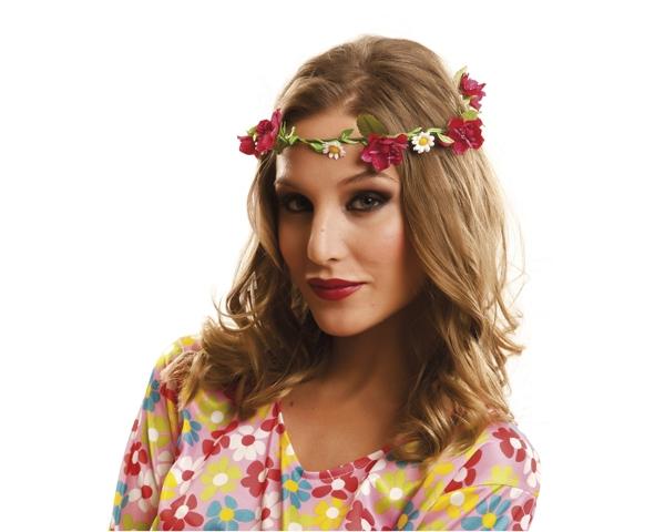 Klobouky-čepice-čelenky - Věneček Hippie