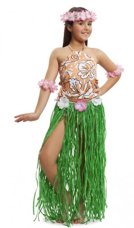 Havajská párty - Dětský kostým Havajská dívka
