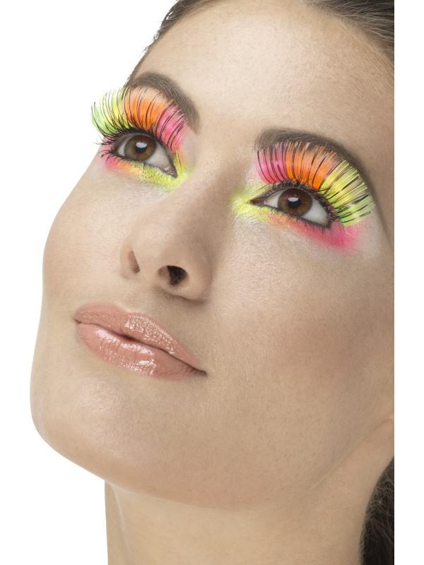 Líčidla a kosmetika - Řasy Neonové barevné