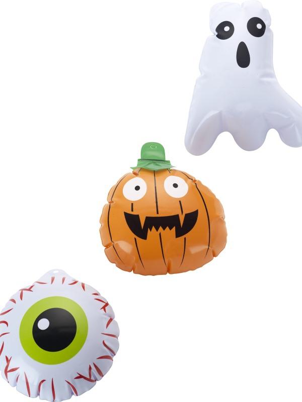 Halloween, strašidelné kostýmy - Nafukovací duch, dýně a oko